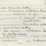 UCC registration card 1935