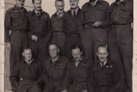 At RAF Honnington, 1940
