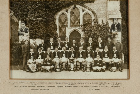 UCC rugby team 1935-36
