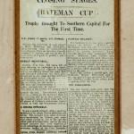 Bateman Cup victory 1936